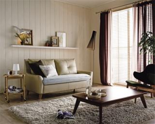 Country Home News :: 좁은 거실 아늑하게 꾸미기, 팔걸이 부피가 작은 ...
