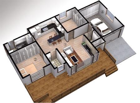 Country Home News :: [몸에 꼭 맞는 집짓기 100번째] 맞춤형 전원주택 ...