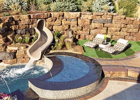 옹벽 · 화단 · 연못 · 계단… 편리하게 만든다 - '이노블록 ...