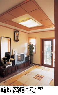 [SPECIAL EDITION 주택의 심장부 거실 설계 인테리어(4)] 박공에서 ...